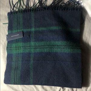 Tommy Hilfiger Tartan Wool Scarf (NWT)